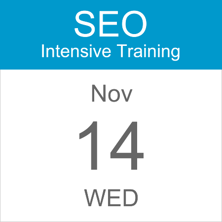 seo-intensive-training-calendar-icon-14-nov-2018