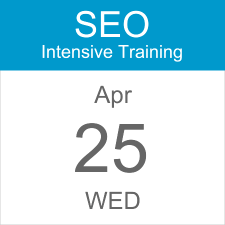 seo-intensive-training-calendar-icon-25-apr-2018