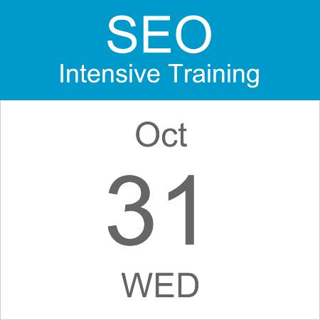 seo-intensive-training-calendar-icon-31-oct-2018