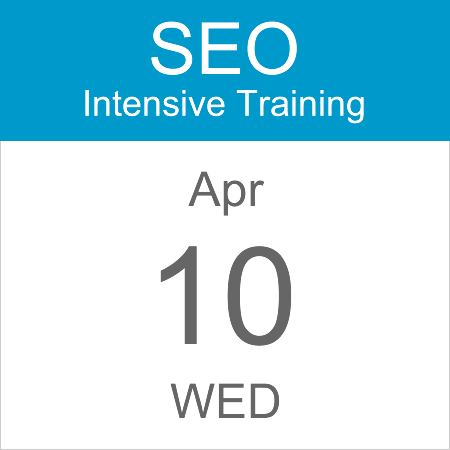 intensive-seo-training-course-calendar-icon-2019-apr-10