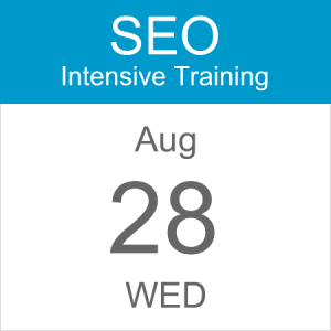 intensive-seo-training-course-calendar-icon-2019-aug-28