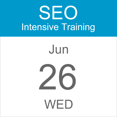 intensive-seo-training-course-calendar-icon-2019-jun-26