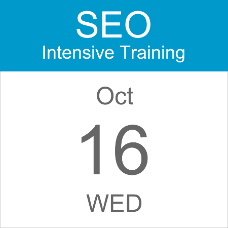 intensive-seo-training-course-calendar-icon-2019-oct-16