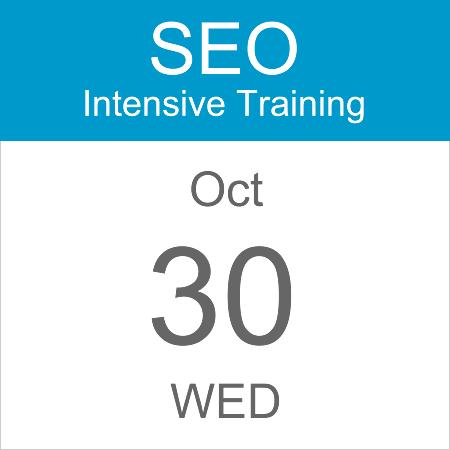 intensive-seo-training-course-calendar-icon-2019-oct-30