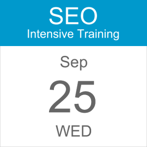 intensive-seo-training-course-calendar-icon-2019-sep-25