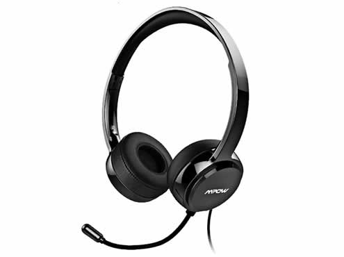 A headset is recommended as it allows you to record your sessions and play them back at the end of the session.